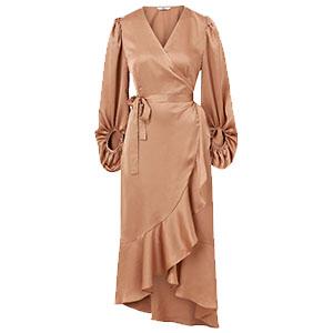 Satinklänning, Ellos Collection
