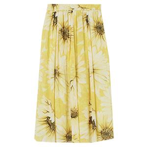 Blommig kjol, H&M